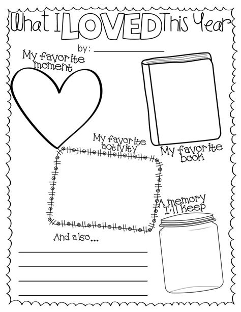 241 best images about end of the school year on - End Of Year Worksheets
