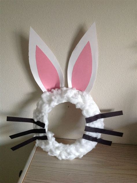 version  easter bunny mask    paper