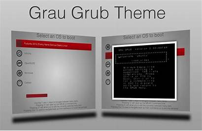 Grub Theme Grau Themes Screenshot Score Linux