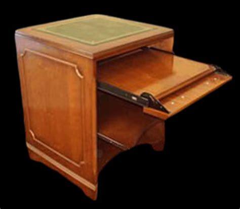 dessus de bureau en cuir petit bureau informatique en bois de merisier longfield 1880