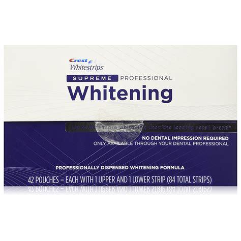 crest whitening strips supreme crest whitestrips supreme professional tooth whitening