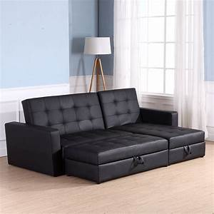 Sofa, Bed, Storage, Sleeper, Chaise, Loveseat, Couch, Sectional, Living, Room, Furniture