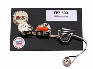 920d Wiring Harness For Gibson Firebird Zero Guitar Fbz