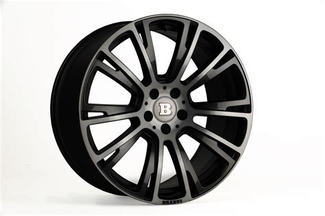 Brabus Mercedes Wheels by Brabus Wheel 5 Mercedes Tuning Mag