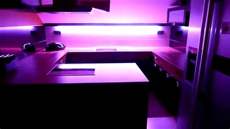 Kitchen Mood Lights by Kitchen With Rgb Led Smd 5050 Ir Remote Mood Light