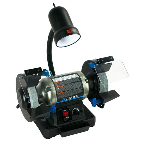 Grinder Bench by Delta 23 196 6 Quot Variable Speed Bench Grinder New Ebay