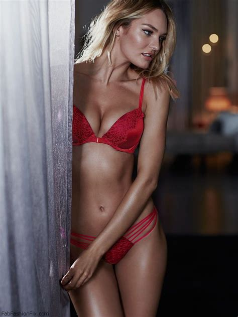 Candice Swanepoel looks smouldering for Victoria's Secret