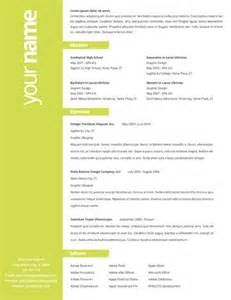 Creative Resume Design Templates