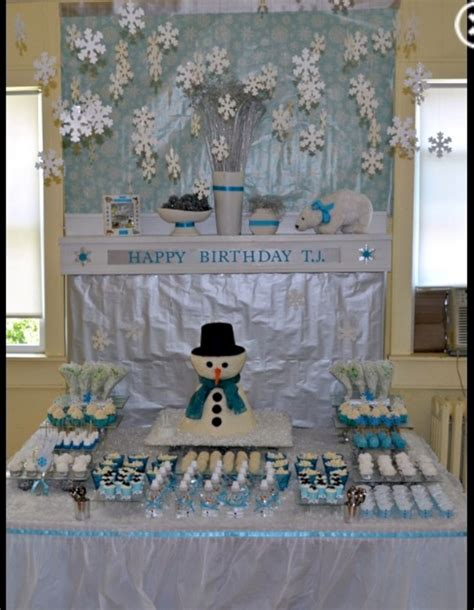 winter wonderland party ideas oosile