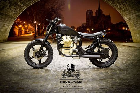 honda cx500 tracker by rive gauche kustoms king of fuel