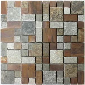 Stein Mosaik De : naturstein kupfer mosaik fliesen mix tm33411 ~ Markanthonyermac.com Haus und Dekorationen