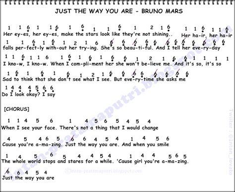 not angka alan walker faded not angka lagu just the way you are bruno mars not angka lagu