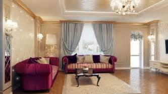 interior your home regal purple blue living room decor olpos design