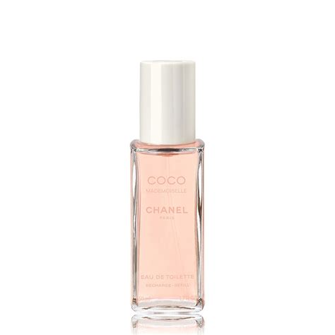 chanel coco mademoiselle eau de toilette refillable spray refill 50ml feelunique