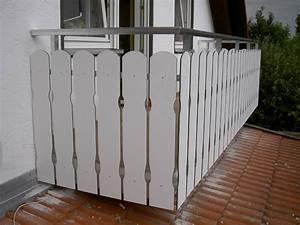 balkone missel balkonbretter With französischer balkon mit kunststoff sichtschutz garten
