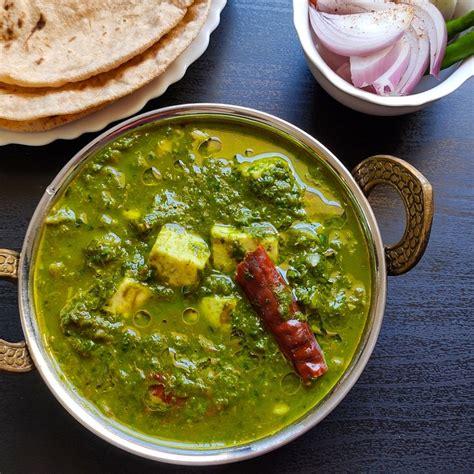 easy palak paneer healthy tasty vegetarian indian recipe