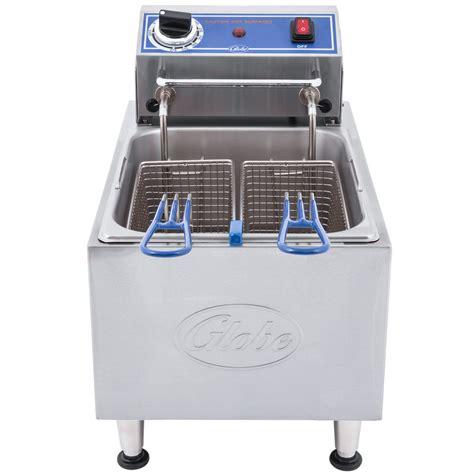 Countertop Fryers by Globe Pf10e 10 Lb Electric Countertop Fryer