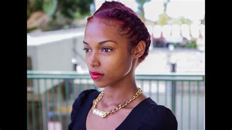 goddess braids  marley hair youtube