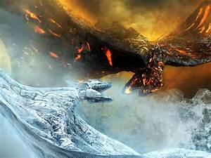 ice dragons vs fire dragons - Google Search | Draconis ...