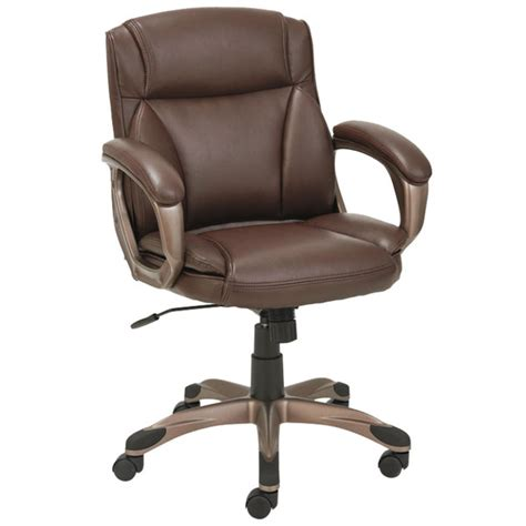 alera alevn6159 veon series low back brown leather