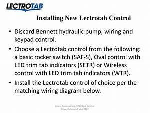 Bennett Hydraulic Trim Tab Wiring Diagram