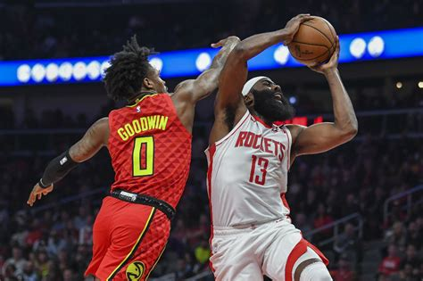 NBA: Harden's 40-point triple-double lifts Rockets past ...