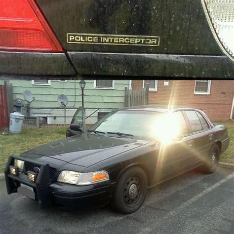 Buy Used 2003 Ford Crown Victoria Police Interceptor Sedan
