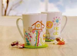 Tassen Bemalen Ideen : tasse bemalen mit porzellanmalstiften porzellanmaler geschirr bemalen teller bemalen ~ Yasmunasinghe.com Haus und Dekorationen