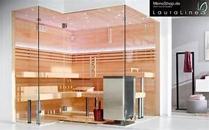 Sauna Mit Glasfront : lauraline sauna design glas sauna sauna glasfront ~ Whattoseeinmadrid.com Haus und Dekorationen