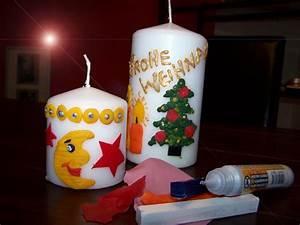 Kerzen Verzieren Weihnachten : basteln und mehr kreatives ~ Eleganceandgraceweddings.com Haus und Dekorationen
