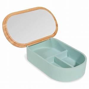 Miroir Boite A Bijoux : bo te bijoux avec miroir malmo portobello maisons du monde ~ Teatrodelosmanantiales.com Idées de Décoration