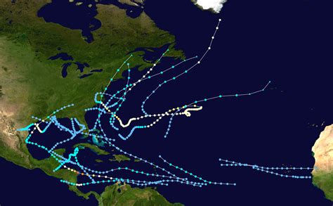 1971 Atlantic Hurricane Season Wikipedia