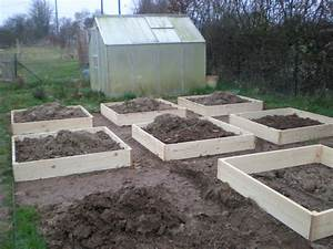 creation du potager en carres 3eme partie boutures de With allee de jardin potager