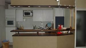plan de travail bar cuisine americaine 13 conseils pour With bar plan de travail cuisine americaine
