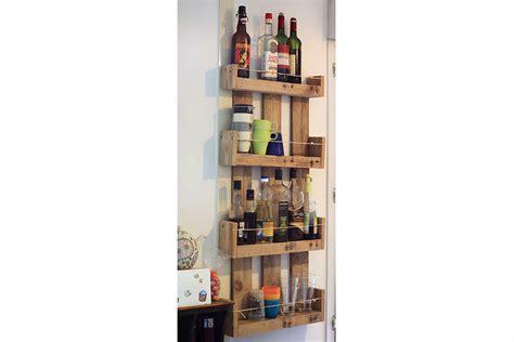etagere murale de cuisine etagères murales de cuisine en bois de palettes la vie