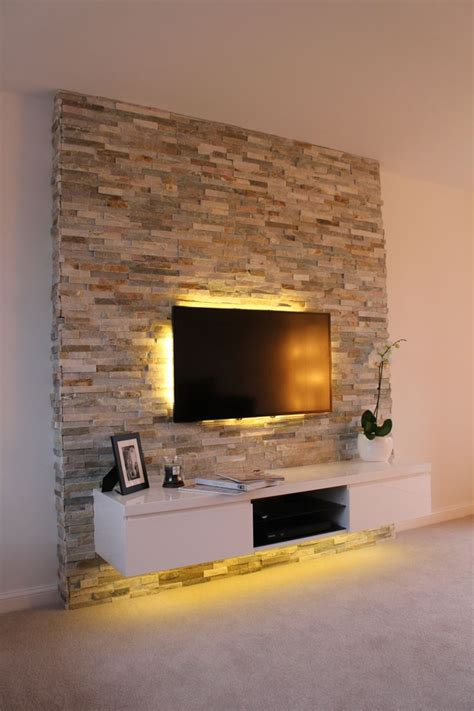 Wohnzimmer Ideen Tv Wand by Best 20 Tv Feature Wall Ideas On Feature
