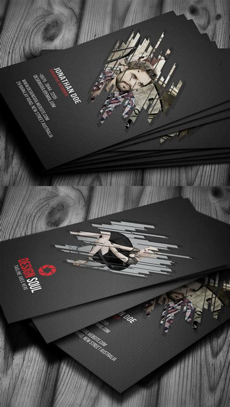 modern business card psd templates   design design