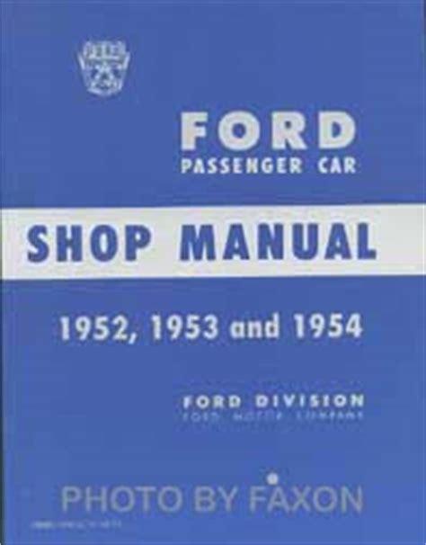 Faxon Shop Manuals For Car Truck Owners Diy Service