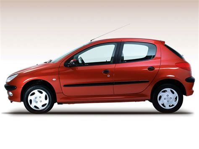 auto peugeot peugeot 206 5 doors 2002 2003 2004 2005 2006 2007