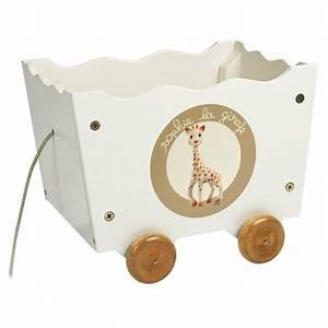 Coffre Jouet Bebe : coffre jouets roulettes sophie la girafe la f e du jouet ~ Preciouscoupons.com Idées de Décoration