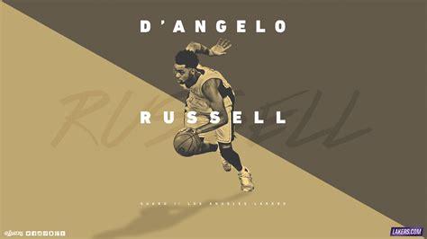 Okc Thunder Wallpaper Hd D Angelo Russell La Lakers 2015 2016 Wallpaper Basketball Wallpapers At Basketwallpapers Com