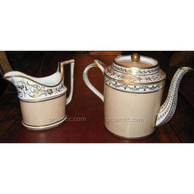 pot a lait deco vase porcelain end xixth century porcelain
