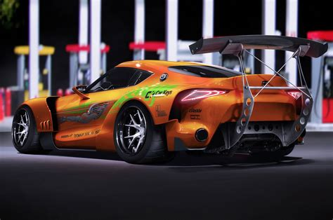 fast and furious 1 renders bring cars from the fast and the furious up to
