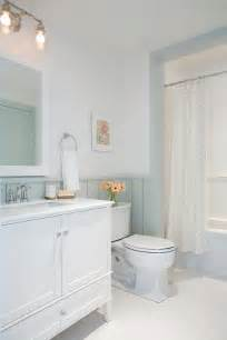 Shiplap Walls with White and Grey Bathroom