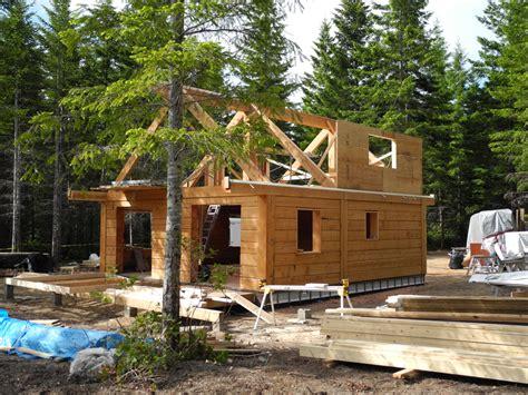 gulf islands log cabin update tamlin homes timber