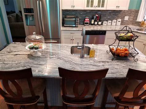 countertops  superior viscont white kitchen