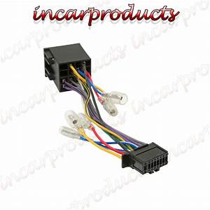Pioneer 16 Pin Iso Wiring Harness Connector Adaptor Car Stereo Radio Loom Pi100