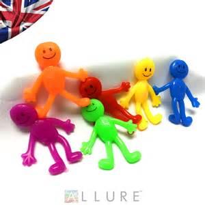 Yellow Stretchy Toys Sticky Man