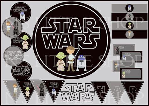 7 Best Images Of Star Wars Birthday Printables Free