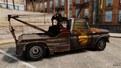 Chevrolet Tow Truck Rusty Stock For Gta 4